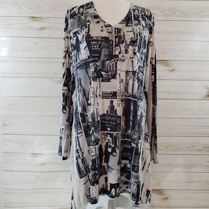 Cover Charge Slinky New York Tunic